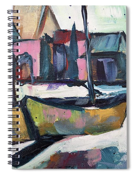 Wharf Boats Spiral Notebook