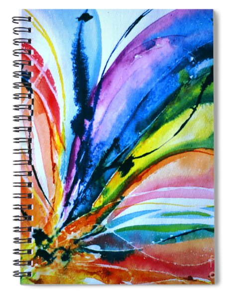 What A Fly Dreams Spiral Notebook