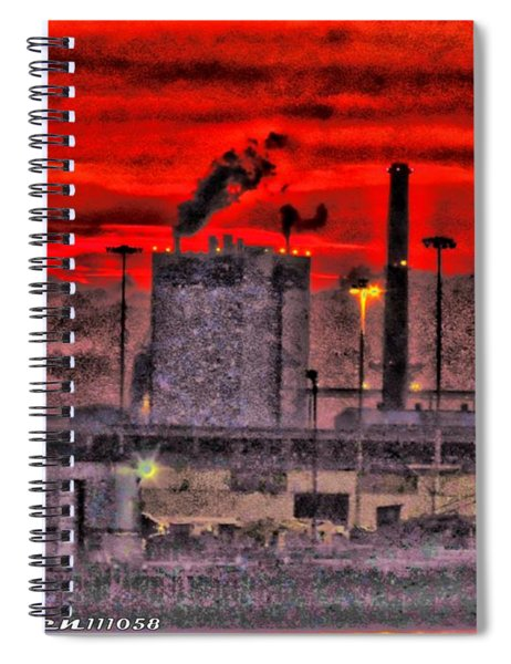 Port Of Savannah Spiral Notebook