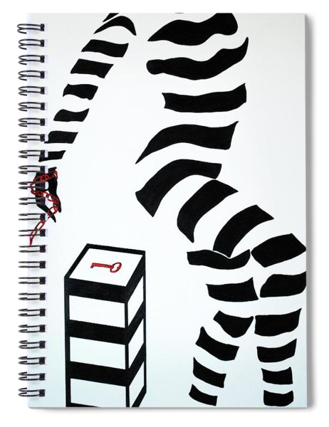 What Are You Waiting For? Spiral Notebook