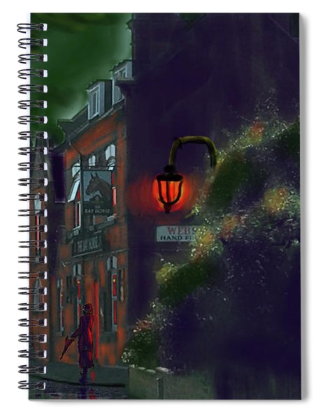 What If Grimshaw Came To Kilham Spiral Notebook