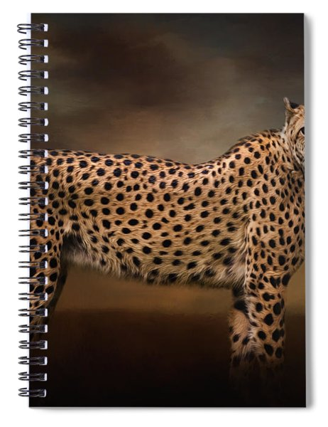 What You Imagine - Cheetah Art Spiral Notebook