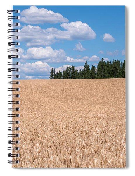Wheat Fields Spiral Notebook