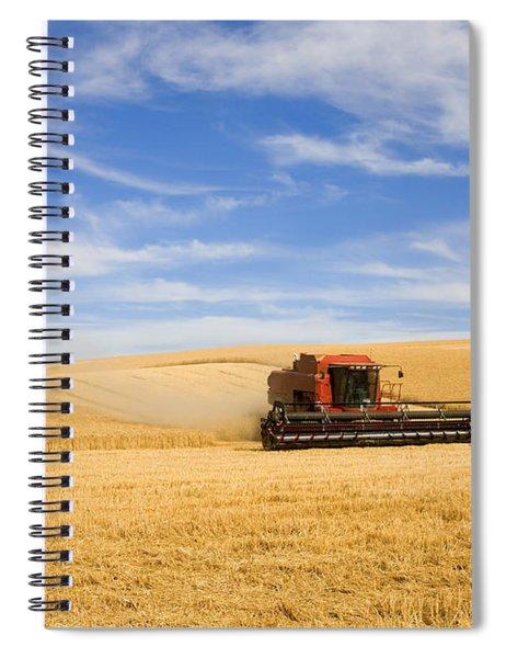 Wheat Harvest Spiral Notebook