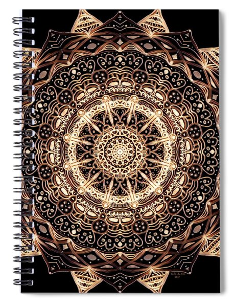 Wheel Of Life Mandala Spiral Notebook