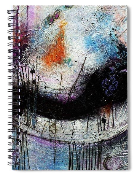 When Days Go By Spiral Notebook