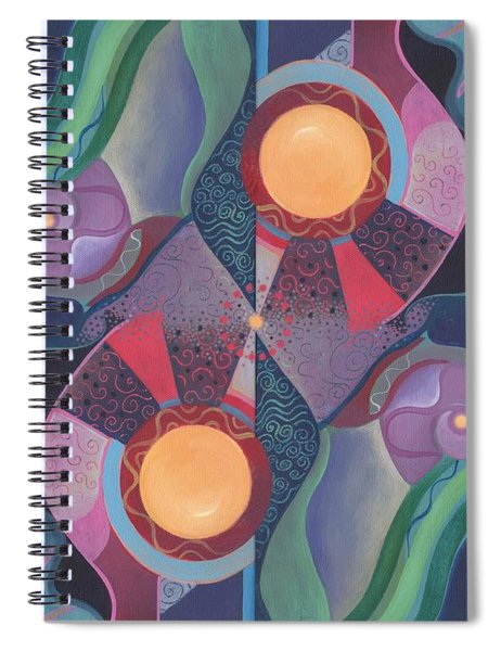 When Deep And Flow Met Spiral Notebook