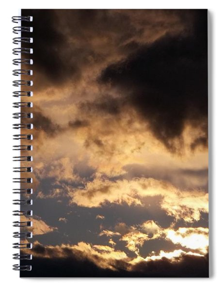 When Heaven Speaks Spiral Notebook