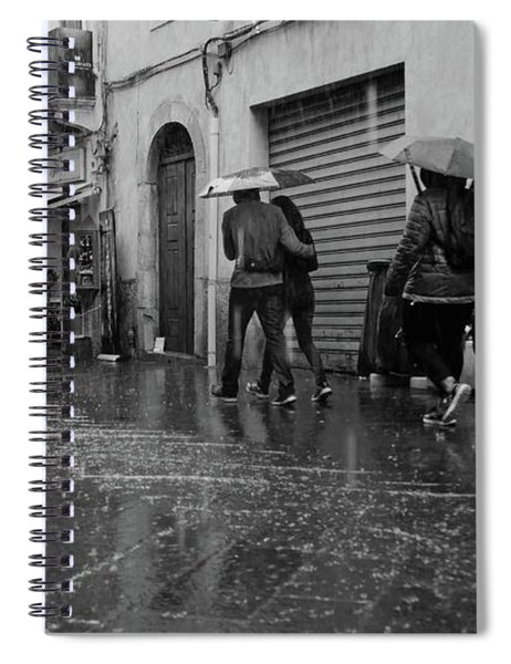 When It Rains It Pours Spiral Notebook