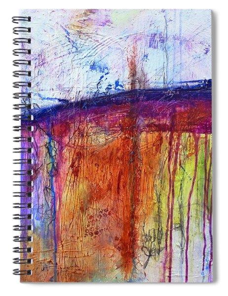 When My Mind Is Free Spiral Notebook