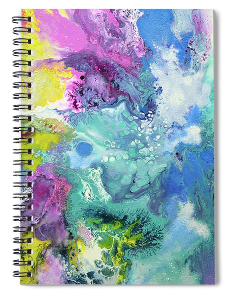 When The Angel Came Spiral Notebook