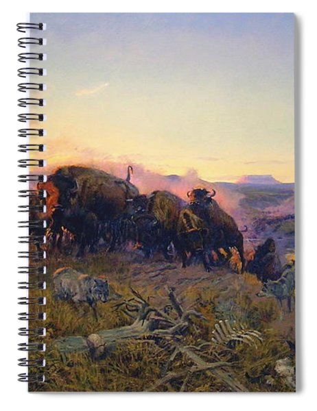 When The Land Belonged To God Spiral Notebook