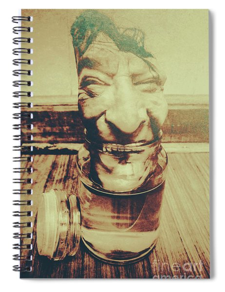 When The Monsters Come Out To Play Spiral Notebook