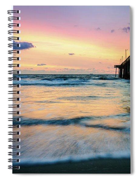 When The Tides Return Spiral Notebook
