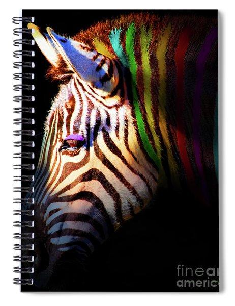 When Zebras Dream 7d8908 Vertical Spiral Notebook