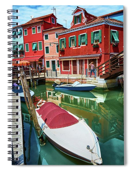 Where Did You Park The Boat? Spiral Notebook