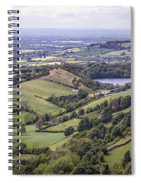 Where Fields Never End Spiral Notebook