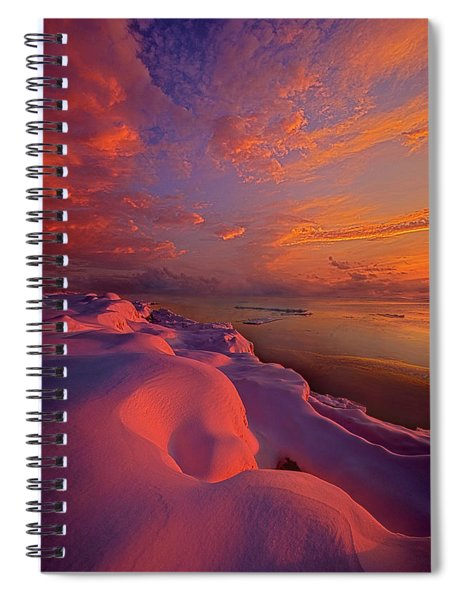 Where Nothing Really Matters Spiral Notebook