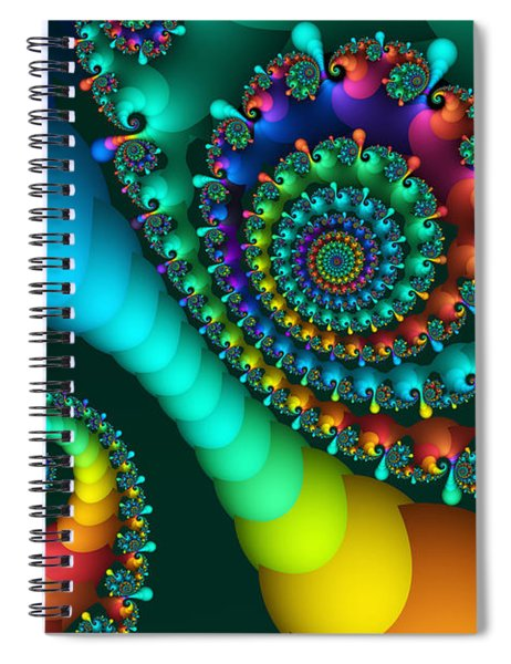 Where Rainbows Are Made Spiral Notebook