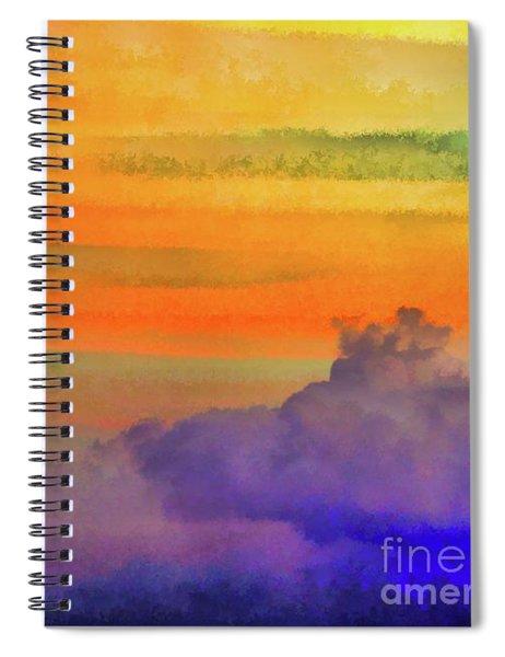Where Rainbows Begin Spiral Notebook
