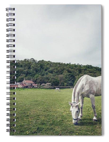 Where The Green Grass Grows Spiral Notebook