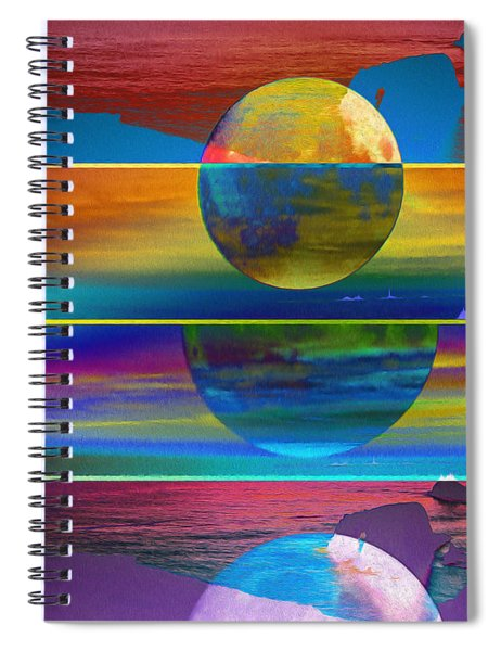 Where The Land Ends Spiral Notebook