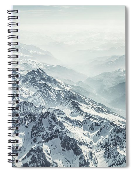 Where The Snow Never Melts Spiral Notebook