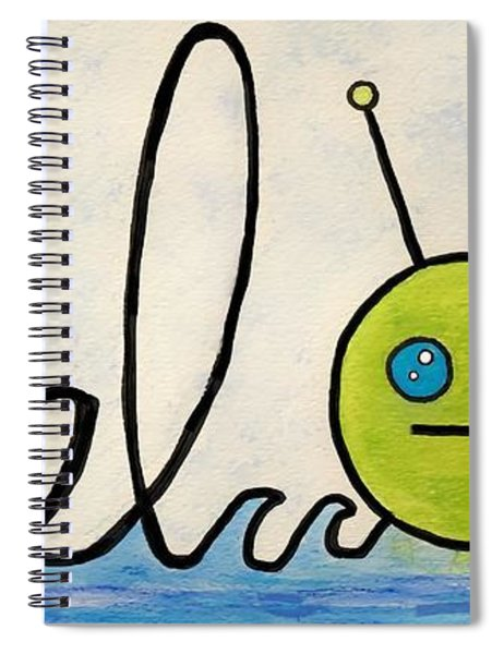Where The Turf Meets The Surf Spiral Notebook