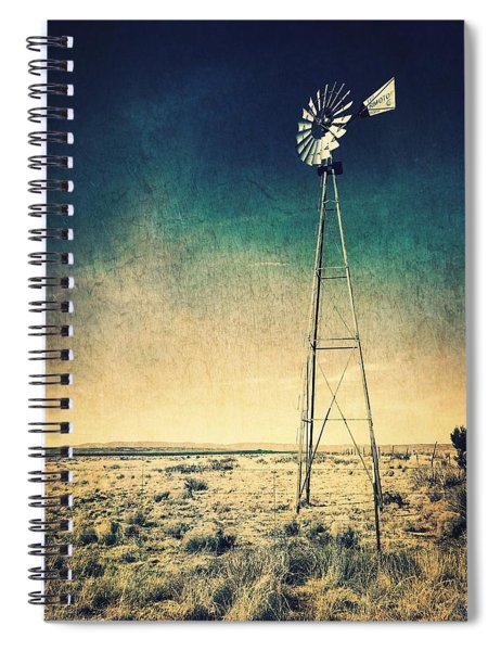 Where The Wind Blows  Spiral Notebook