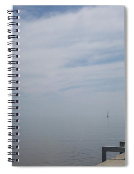 Where Water Meets Sky Spiral Notebook