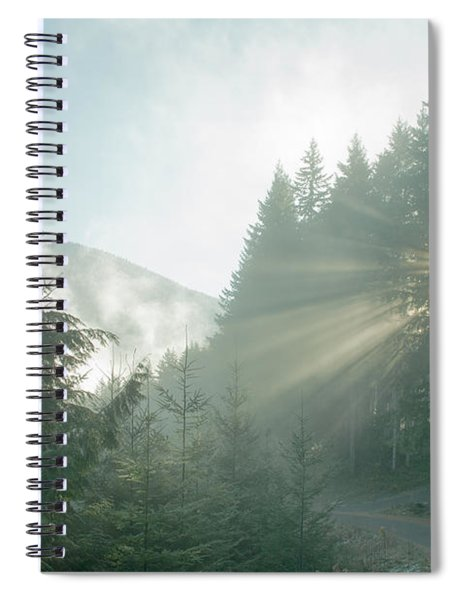 Where Will Your Road Take You? Spiral Notebook