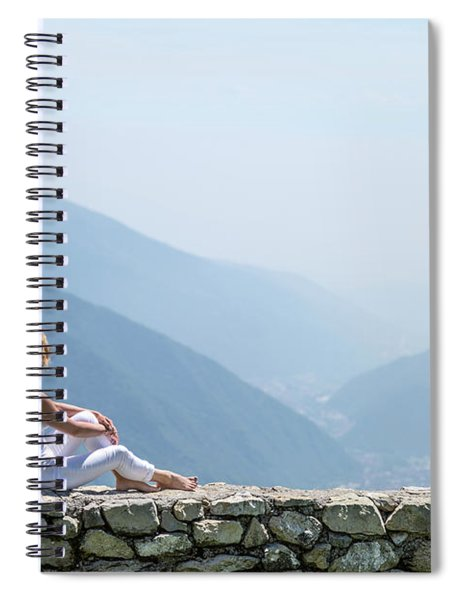 Where You Touch The Sky Spiral Notebook