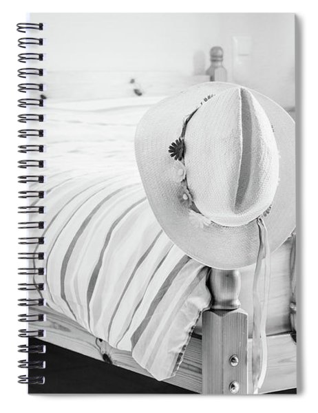 Wherever I Lay My Hat Spiral Notebook