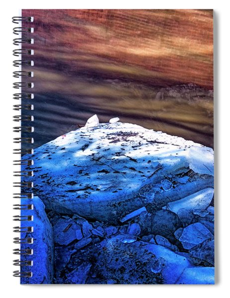 Whetstone Brook  Abstract Spiral Notebook