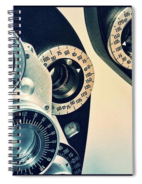 Spiral Notebook featuring the photograph Which Is Better 1 Or 2? by Andrea Platt