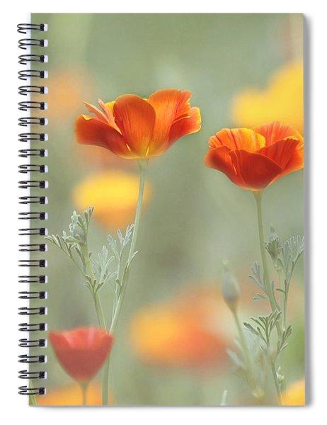 Whimsical Summer Spiral Notebook