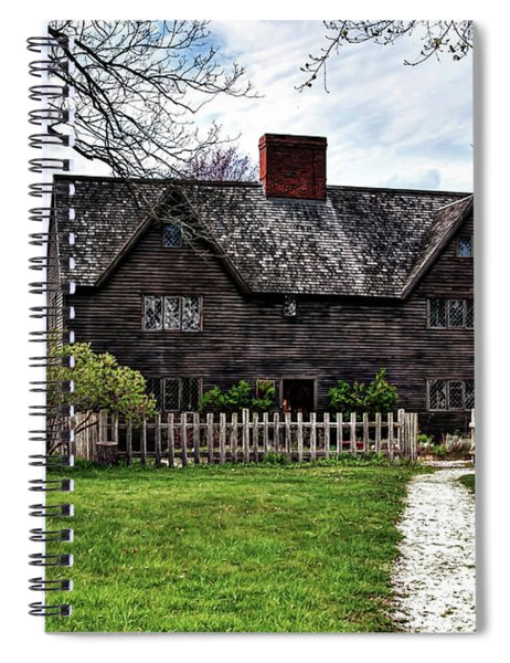 The John Whipple House In Ipswich Spiral Notebook