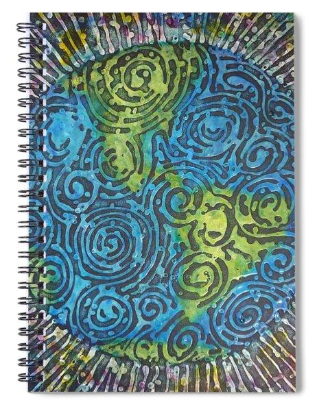 Whirled Piece Spiral Notebook