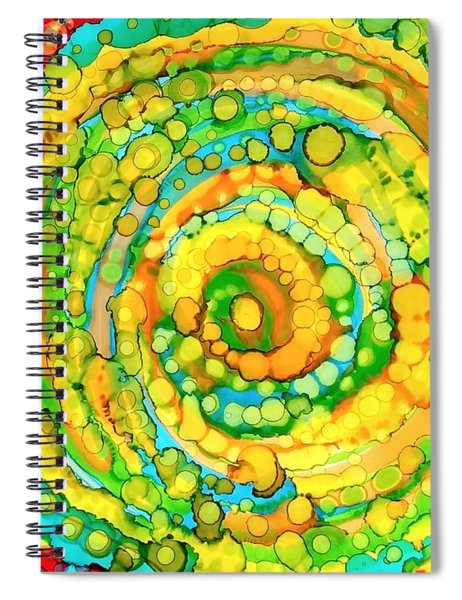 Whirling Spiral Notebook