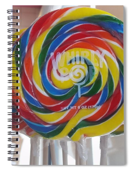 Whirly Pops Spiral Notebook