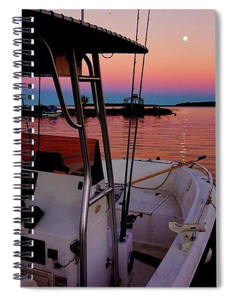 Whiskey Bay Spiral Notebook