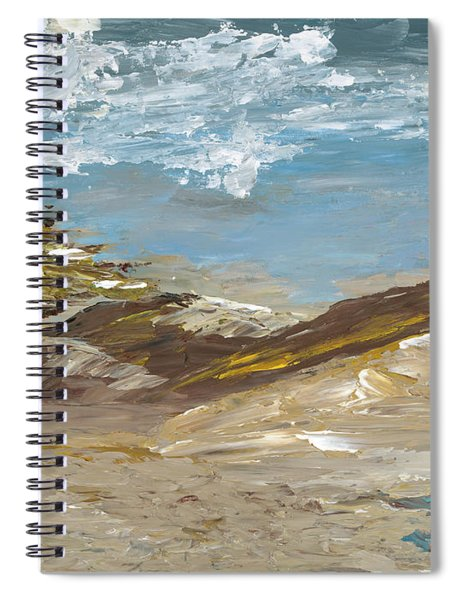 Whispering Dunes Spiral Notebook
