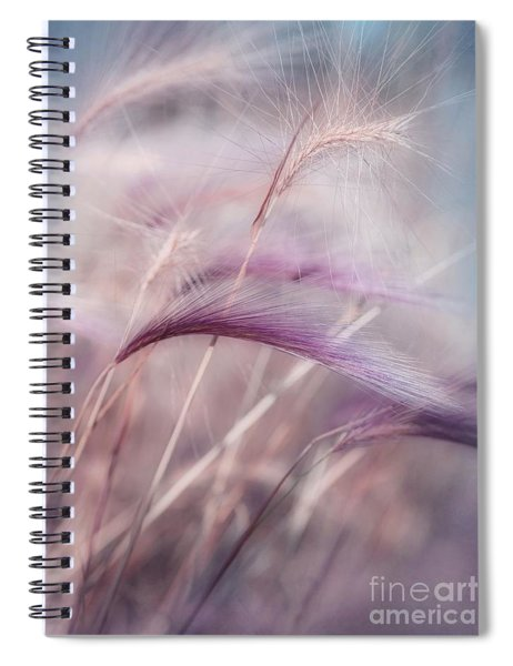 Whispers In The Wind Spiral Notebook by Priska Wettstein