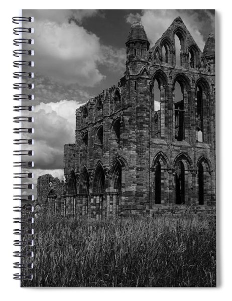 Whitby Abbey, North York Moors Spiral Notebook