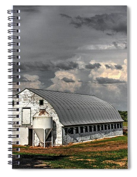 White Barn Spiral Notebook