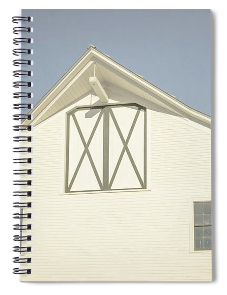 White Barn South Woodstock Vermont Spiral Notebook