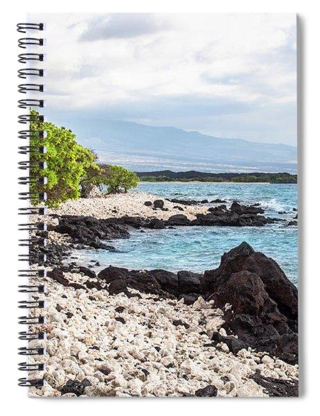 White Coral Coast Spiral Notebook