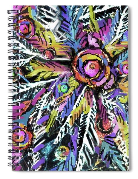 White Ferns - Detail Spiral Notebook