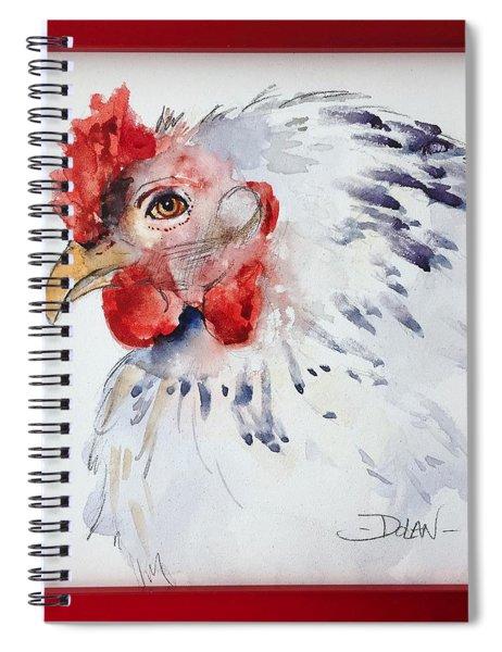 White Hen Spiral Notebook