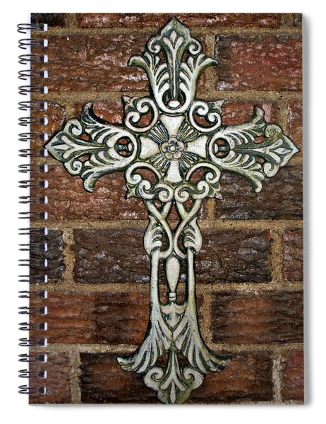 White Iron Cross 1 Spiral Notebook